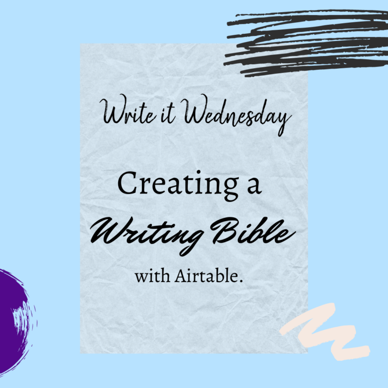 Creating a Writing Bible with Airtable